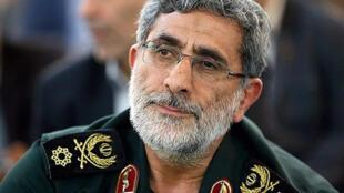 Photo non datée de Esmail Ghaani, successeur du général Soleimani à la tête de la force al-Qods.