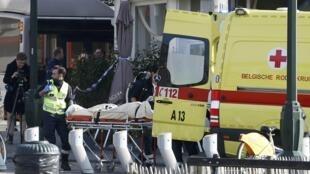 A polícia belga fazia uma investigação em Forest, perto de Bruxelas