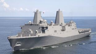 Tầu vận tải đổ bộ USS Green Bay ở New Orleans, Mỹ. Ảnh minh họa.