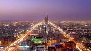 La ciudad de Riad.