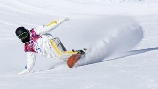 Provas de classificação do snowboard abriram as competições esportivas dos Jogos Olímpicos de Inverno de Sochi.