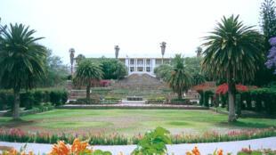 Tintenpalast, siège du Gouvernement et du parlement de Windhoek, capitale de la Namibie.