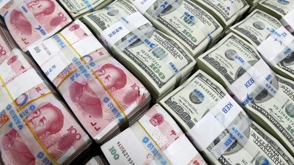 中國央行允許人民幣兌美元彙率下跌