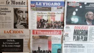 Diários franceses desta quarta-feira 23 de Maio.