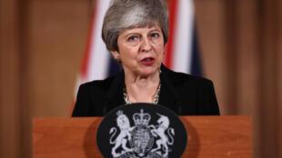 Theresa May insiste en una extensión corta del brexit, hasta el 30 de junio.