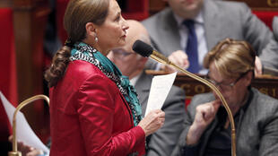 Ecology Minister Ségolène Royal in the French National Assembly