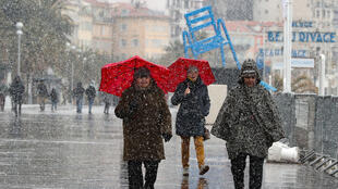 Vaga de frio faz mortos na Europa