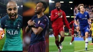 Tottenham, Liverpool, Arsenal e Chelsea estão nas finais da Liga dos Campeões e da Liga Europa.