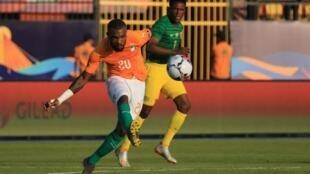 L'Ivoirien Geoffroy Serey Dié lors de la CAN 2019.