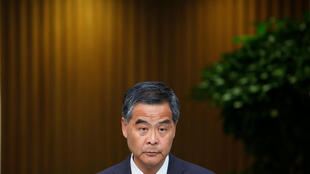 Trưởng đặc khu Hồng Kông Lương Chấn Anh. Ảnh chụp ngày 20/06/2016.
