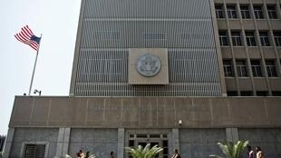 Embaixada dos Estados Unidos em Tel Aviv é uma entre as 14 que estarão fechadas neste domingo, dia 4 de agosto.