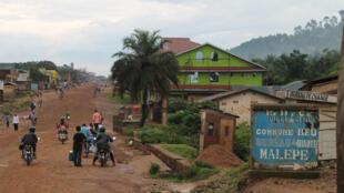 La ville de Beni en octobre 2014.