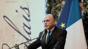 El ministro francés del Interior, Bernard Cazeneuve, este 3 de noviembre en Calais.