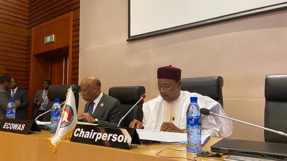 Cimeira extraordinária da CEDEAO sobre a Guiné-Bissau em Addis Abeba, na sede da União Africana, a 9 de Fevereiro de 2020.