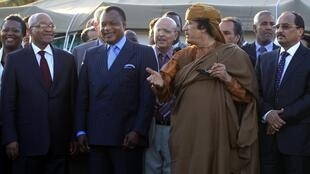 Libyan leader accepts peace plan put forward by African Union