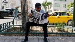 Au lendemain de la disparition du président tunisien en exercice, la presse rend hommage au président Essebsi.