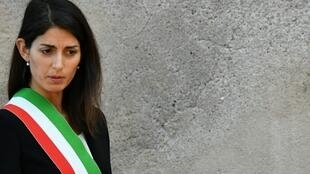 Rome's mayor Virginia Raggi announced her decision on Friday