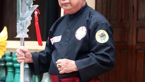 Đại võ sư quốc tế Lê Kim Hòa, Chưởng môn sáng lập  môn phái Thanh Long Võ Đạo.