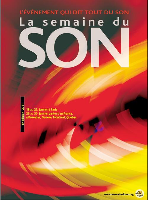 Cartel de la Semana del Sonido 2011.