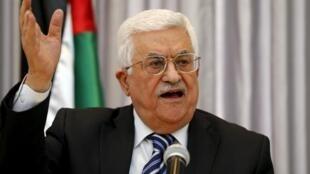 Kiongozi wa Mamlaka ya Palestina, Mahmoud Abbas.