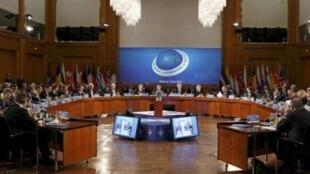 Заседание Совета Россия-НАТО в Берлине, 15 апреля 2011.