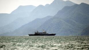 Ảnh minh họa: Tàu tuần tra của hải quân Hoàng gia Malaysia gần đảo Langkawi, ngày 14/05/2015.