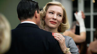 Cate Blanchett in Carol by Todd Haynes, in competition for the Golden Palm at the Cannes Film Festivals 2015.