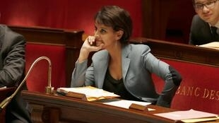 French Women's Rights Minister Najat Vallaud-Belkacem