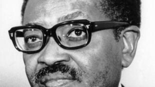 Agostinho Neto, premier président de la République populaire d'Angola.