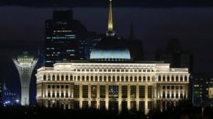 Резиденция президента Казахстана в Нур-Султане, октябрь 2019.