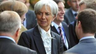 France's Economy Minister Christine Lagarde
