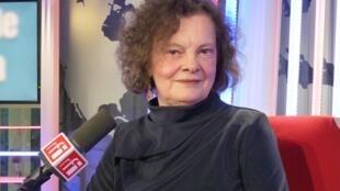 Ingrid De Armas en los estudios de RFI