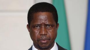 shugaban kasar  Zambia, Edgar Lungu,
