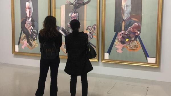 O Centro Pompidou traz uma retrospectiva de Francis Bacon (1909-1992).
