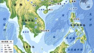 中國與越南等國在南海水域存在主權爭議