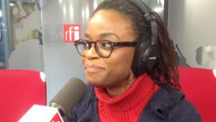 Julie Owono visits RFI's studios