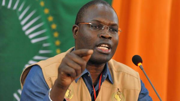 Khalifa Sall, le maire de Dakar, le 13 mars 2013 à Niamey (Niger).