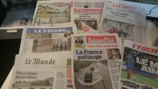 Diários franceses 03.06.2016