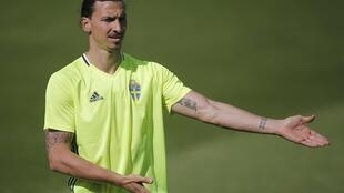 Zlatan Ibrahimovic will captain Sweden in their Euro 2016 match against Ireland