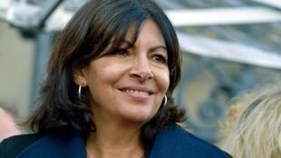 La maire de Paris, Anne Hidalgo.