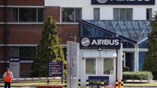 Завод Airbus неподалеку от британского Честера, 22 июня 2018.