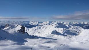 La Plagne, Savoie.