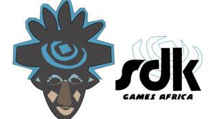 Logo de la start-up SDK Games, qui a créé un jeu vidéo sur Samuel Eto'o, la star du football camerounais.