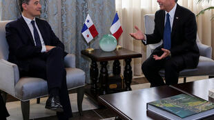 Le ministre Gérald Darmanin s'est rendu à Panama pour mettre en place un groupe de travail bilatéral sur la fraude fiscale.
