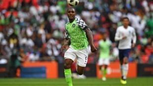 Odion Ighalo, avançado da Nigéria.
