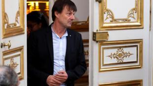 法國聲望很高的於洛苦於無法推進重大環保措施,周二突然宣布辭去環保部長職務
