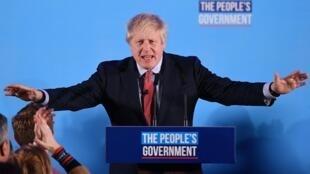 O conservador Boris Johson obteve a maioria parlamentar com 368 cadeiras