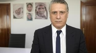 Nabil Karoui, founder of Nessma TV and presidential candidate in upcoming elections in Tunisia.
