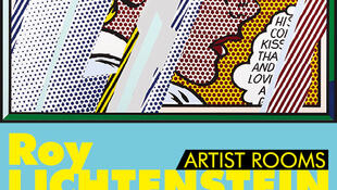 Reflections on Girl, litografia de Roy Lichtenstein, 1990 © Estate of Roy Lichtenstein/DACS 2015