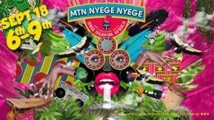 L'affiche officielle du festival Nyege Nyege du 6 au 9 septembre.